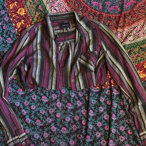 High cut Flannel